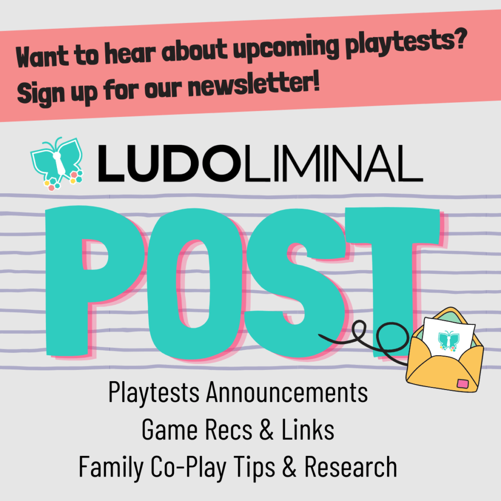 Join the Ludoliminal Post for playtest announcements.